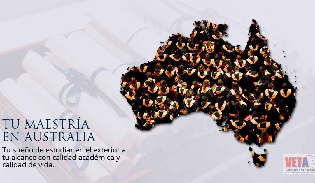 Estudia tu Maestría en Australia.