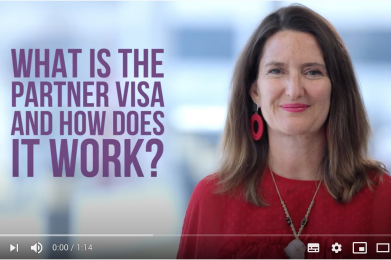 What is the partner visa and how does it work?