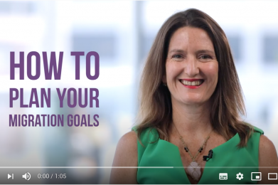 How to plan your migration goals