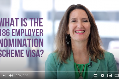 What is the 186 ENS visa