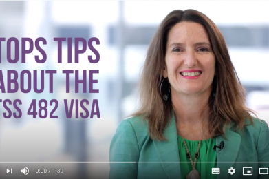 Things to know about the 482 visa