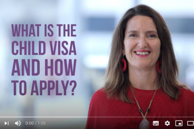 What is the Child visa and how to apply?