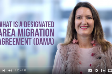 What is a designated area migration agreement DARMA?