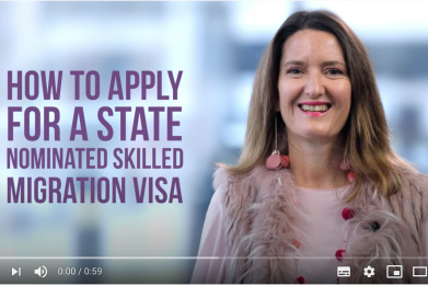 How to apply for a state nominated skilled migration